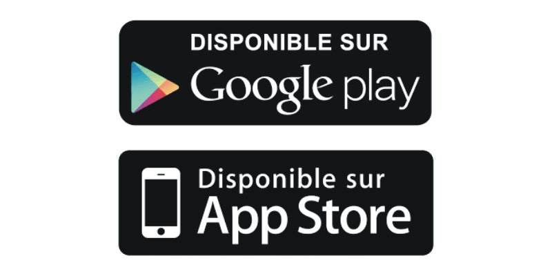 logo play sotre et apple store